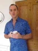 Picture of Paul Vallance holding a Coffee Cup